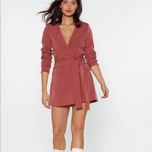 Blazer dress from NASTY GAL